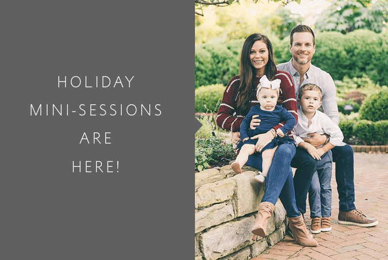 Family Mini Session Announced