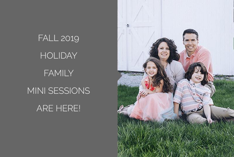 Fall 2019 Holiday Family Mini Session