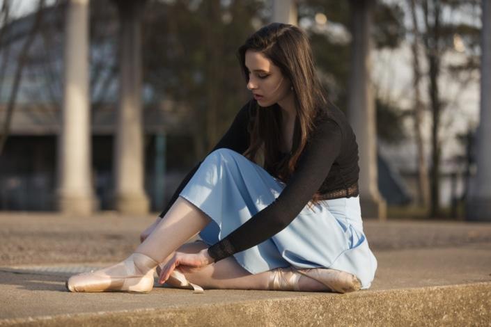 Senior Picture Ballet Dancer Shoes